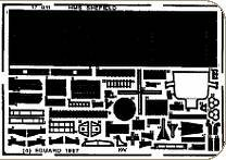 HMS Sheffield für Revell Bausatz · EDU 17011 ·  Eduard · 1:700