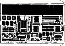 USS Ticonderoga für Revell Bausatz · EDU 17012 ·  Eduard · 1:700