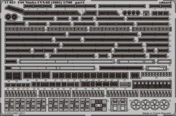 USS Nimitz CVN-68 (2005) [Trumpeter] · EDU 17027 ·  Eduard · 1:700