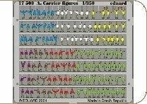 Air.Carrier Figures WWII · EDU 17509 ·  Eduard · 1:350