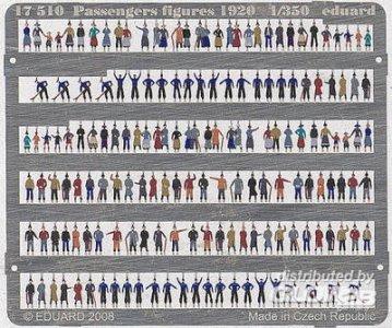 Passengers Figures 1920 · EDU 17510 ·  Eduard · 1:350