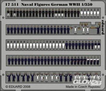 Naval Figures German WWII · EDU 17511 ·  Eduard · 1:350