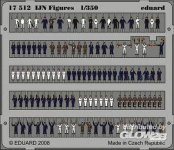 IJN Figures · EDU 17512 ·  Eduard · 1:350