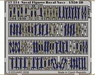 Naval Figures Royal Navy · EDU 17514 ·  Eduard · 1:350