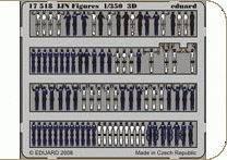 IJN Figures S.A. 3D · EDU 17518 ·  Eduard · 1:350