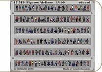 Figures Airliner · EDU 17519 ·  Eduard · 1:400
