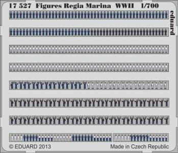 Figures Regia Marina WWII · EDU 17527 ·  Eduard · 1:700