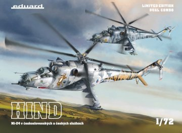 Mi-24 in Czech and Czechoslovak service DUAL COMBO - Limited Edition · EDU 2116 ·  Eduard · 1:72