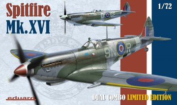 Spitfire Mk.XVI - Dual Combo - Limited Edition · EDU 2117 ·  Eduard · 1:72