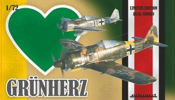 Grün Herz - Dual Combo - Limited Edition · EDU 2122 ·  Eduard · 1:72