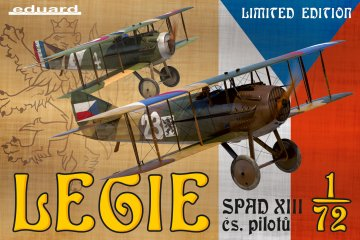 Legie-SPAD XII cs.pilotu, - Limited Edition · EDU 2126 ·  Eduard · 1:72