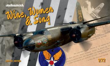 B-26 - Wine, Women & Song - Limited Edition · EDU 2129 ·  Eduard · 1:72