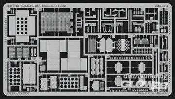 Sd.Kfz. 165 Hummel · EDU 22113 ·  Eduard · 1:72