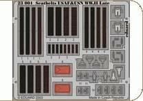 Seatbelts USAF & USN WW II · EDU 23001 ·  Eduard · 1:24