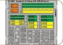 Seatbelts UsAF & USN WW.II · EDU 23002 ·  Eduard · 1:24