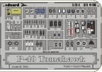 P-40B Tomahawk placards für Vintage Bausatz · EDU 23008 ·  Eduard · 1:24
