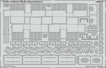 Hawker Typhoon MKIB - Armament [Airfix] · EDU 23021 ·  Eduard · 1:24