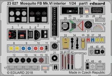 Mosquito FB Mk.VI - Interior [Airfix] · EDU 23027 ·  Eduard · 1:24