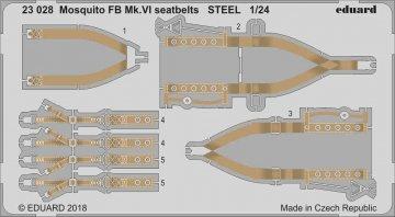Mosquito FB Mk.VI - Seatbelts STEEL [Airfix] · EDU 23028 ·  Eduard · 1:24
