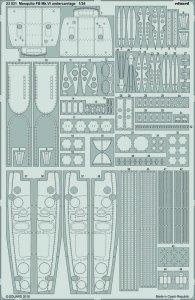 Mosquito FB Mk.VI - Undercarriage [Airfix] · EDU 23031 ·  Eduard · 1:24