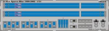 Sparco blue 1999-2002 · EDU 24014 ·  Eduard · 1:24