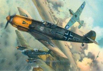 Messerschmitt Bf 109 E-4 Profipack · EDU 3003 ·  Eduard · 1:32