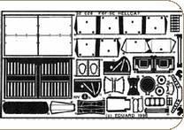 Grumman F6F-5 cockpit set [Hasegawa] · EDU 32026 ·  Eduard · 1:32