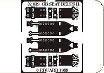 Seat belts II GB RAF WWII · EDU 32039 ·  Eduard · 1:32