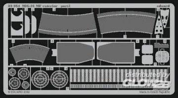 MiG-21 MF - Exterior set [Trumpeter] · EDU 32054 ·  Eduard · 1:32