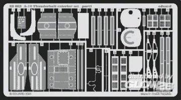 A-10 Thunderbolt - Exterior set [Trumpeter] · EDU 32062 ·  Eduard · 1:32