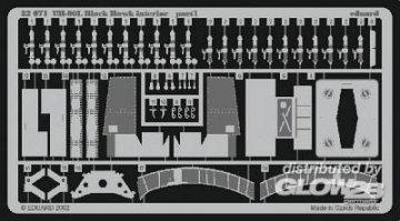 UH-60L Black Hawk - Interior [Academy] · EDU 32071 ·  Eduard · 1:35