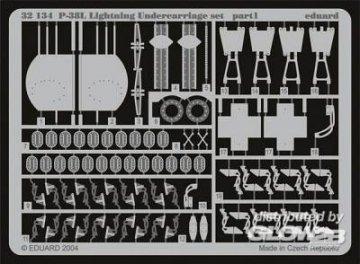 P-38L Lighting - Undercarriage [Trumpeter] · EDU 32134 ·  Eduard · 1:32