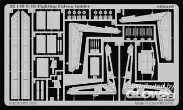 F-16 Fighting Falcon - Ladder [Tamiya] · EDU 32149 ·  Eduard · 1:32