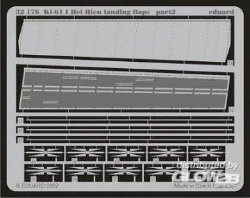 Ki-61 I Hei Hien - Landing flaps [Hasegawa] · EDU 32176 ·  Eduard · 1:32