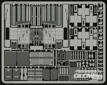 F6F-5 Hellcat - Gun bay [Trumpeter] · EDU 32191 ·  Eduard · 1:32