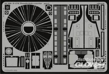 P-47M Thunderbolt - Exterior [Hasegawa] · EDU 32200 ·  Eduard · 1:32