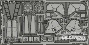 P-47N Thunderbolt - Undercarriage [Trumpeter] · EDU 32215 ·  Eduard · 1:32