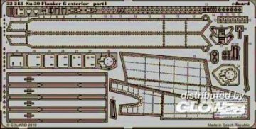 Su-30 Flanker G - Exterior [Trumpeter] · EDU 32243 ·  Eduard · 1:32