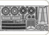 EF 2000 Double Seater - Exterior [Trumpeter] · EDU 32247 ·  Eduard · 1:32