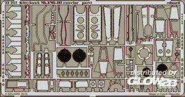 Kittyhawk Mk.I/Mk.III - Exterior [Hasegawa] · EDU 32257 ·  Eduard · 1:32