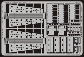 P-40M - Gun bay [Hasegawa] · EDU 32284 ·  Eduard · 1:32
