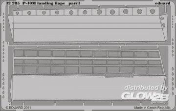 P-40M - Landing flaps [Hasegawa] · EDU 32285 ·  Eduard · 1:32