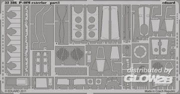 P-40M - Exterior [Hasegawa] · EDU 32286 ·  Eduard · 1:32
