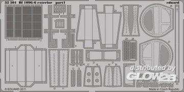 Messerschmitt Bf 109 G-6 - Exterior [Trumpeter] · EDU 32301 ·  Eduard · 1:32