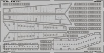 A-4E slats [Trumpeter] · EDU 32305 ·  Eduard · 1:32