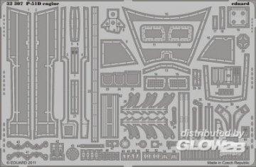 P-51D - Engine [Tamiya] · EDU 32307 ·  Eduard · 1:32
