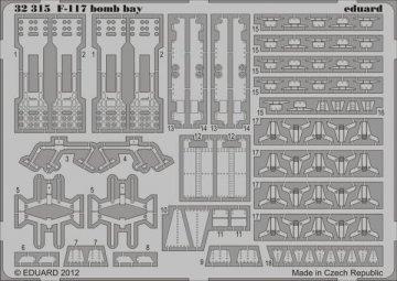 F-117 - Bomb bay [Trumpeter] · EDU 32315 ·  Eduard · 1:32