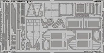 F-117 - Exterior [Trumpeter] · EDU 32316 ·  Eduard · 1:32
