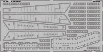 A-4M slats [Trumpeter] · EDU 32317 ·  Eduard · 1:32