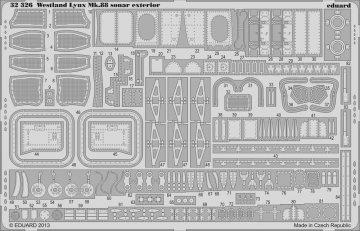 Lynx Mk.88 sonar - Exterior [Revell] · EDU 32326 ·  Eduard · 1:32